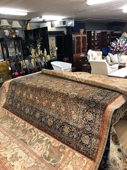 Brick Red Indo Persian Carpet