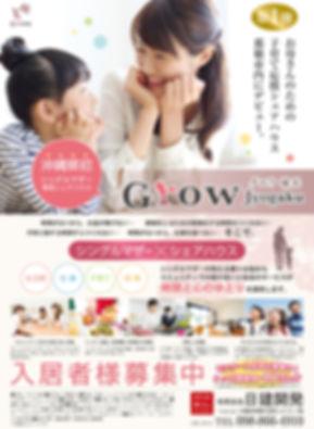 沖縄,シェアハウス,Grow,グロウ,チラシ