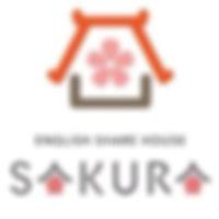 沖縄,シェアハウス,サクラ,英語,ロゴ