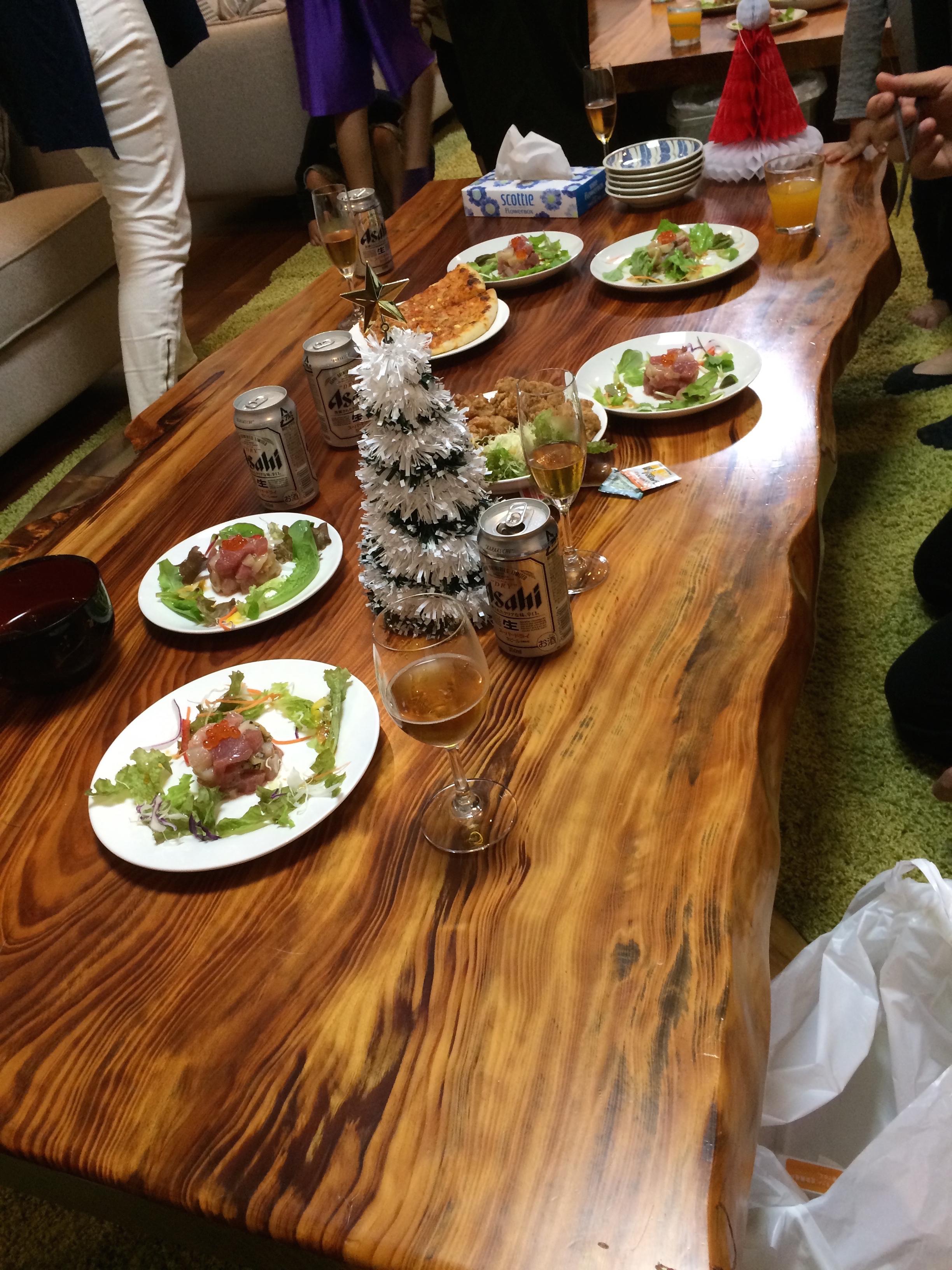 沖縄、シェアハウス、サクラ、クリスマス、パーティー