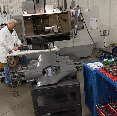 Post Operations Machining Area | AIM Aerospace