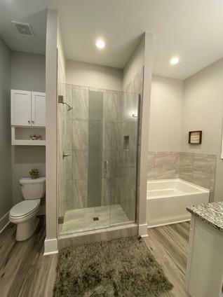 Luxurious master bath suite
