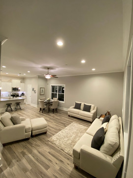 Open concept floor plans available
