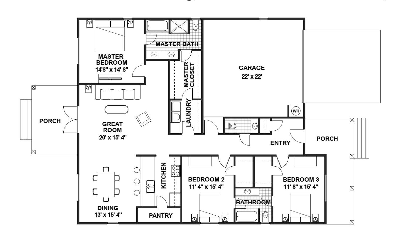 BRIAR Floor Plan