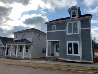 Varied exterior elevations