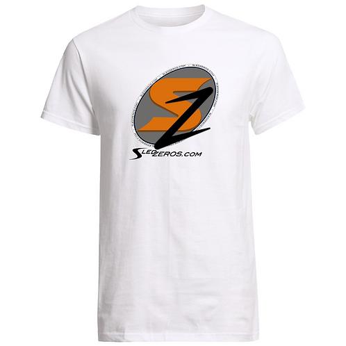 SledZEROS White T-Shirt