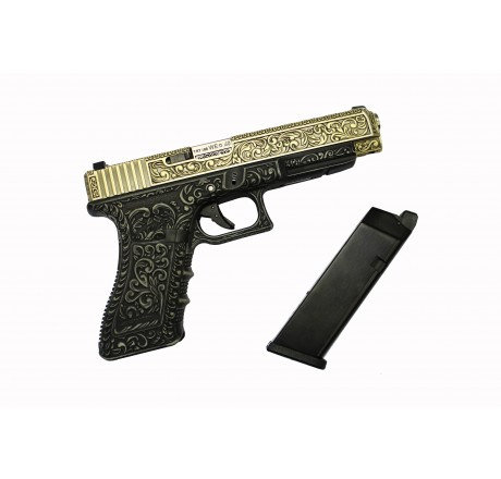 WE-Tech G35 Classic Floral Pattern Airsoft GBB Pistol