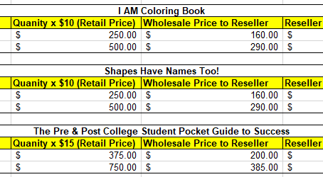 Book Wholesale Reseller Opportunity