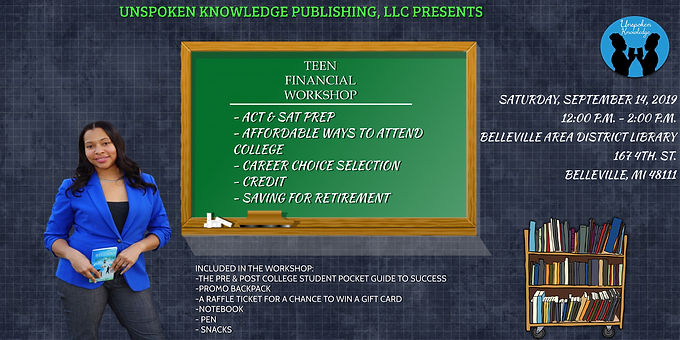 Copy of Teen Financial Workshop - Made w