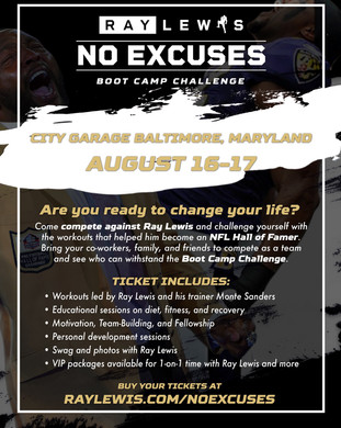 Ray Lewis No Excuses