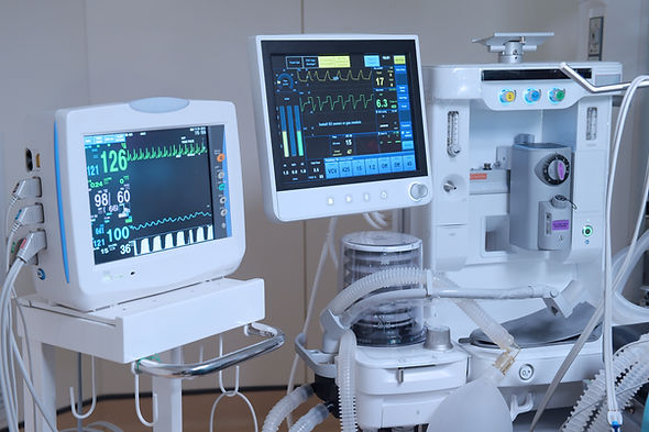 equipment and medical devices in modern