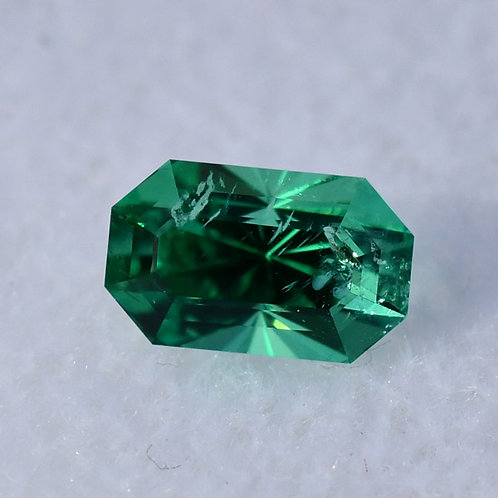 0.7 Ct. Very Clean, Excellent Color Emerald, GIA Certified