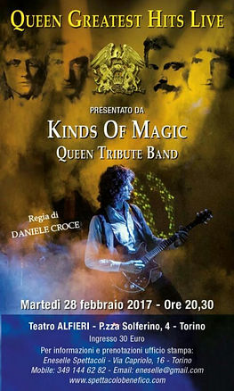 Queen Greatest Hits Live by Kinds of Magic