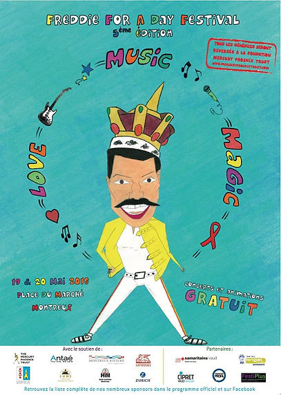 Kinds of Magic Freddie for a Day