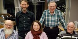 Bild Vorstand Musikverein Veltheim