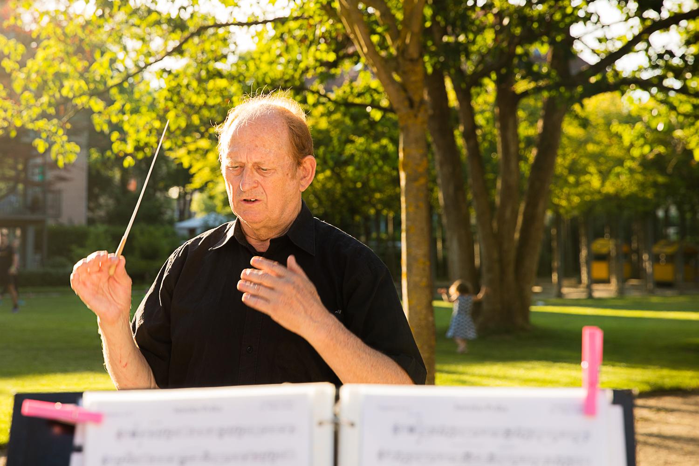 Dirigent Walter Greber