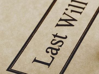 Probate administration for a testamentary will