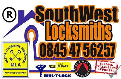 Southwest locksmith, Devon & Cornwall for locks & cars