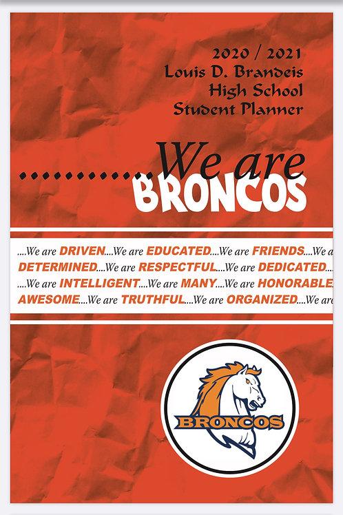 Brandeis 2020-21 Student Planner