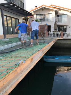 Cantilever Concrete Deck