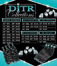 hair price flyer design with diamonds