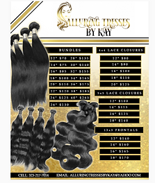 hair price flyer design with gold glitter