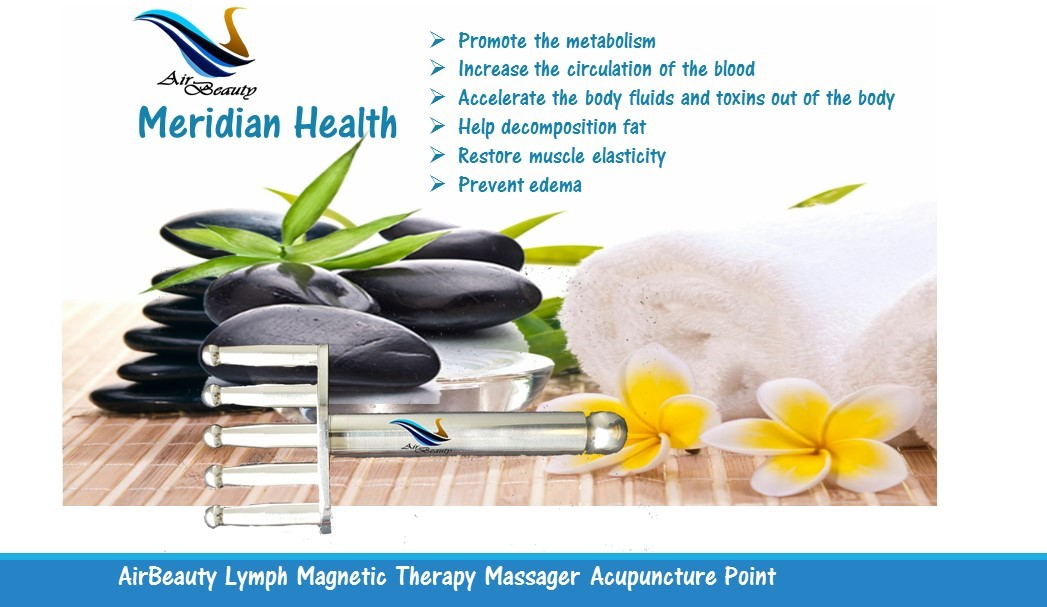 AirBeauty Lymph Magnetic Therapy Massager Acupuncture Point