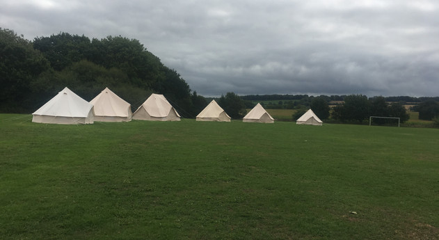 AVAILABLE FOR ORGANISED CAMPING!