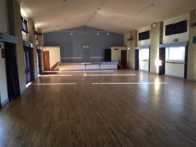 PLENTY OF SPACE IN OUR LARGE HALL!