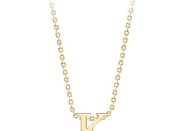 K Yellow Gold Pendant & Chain