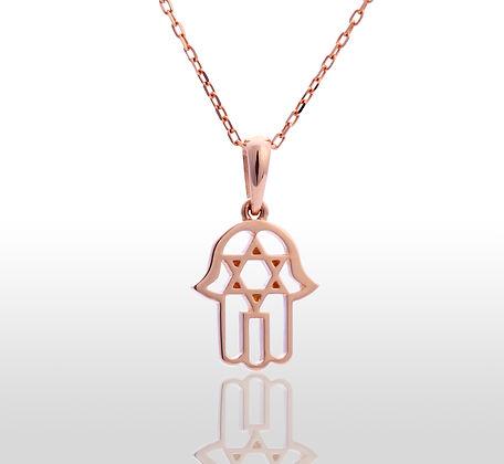 Beautiful pendant of gold