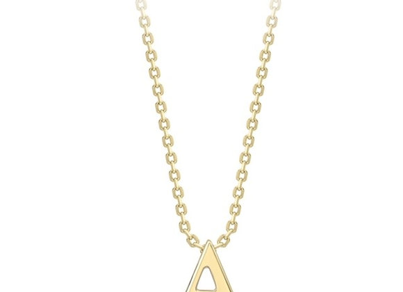 A Yellow Gold Pendant and Chain