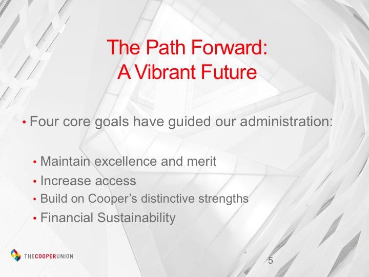 Four core goals
