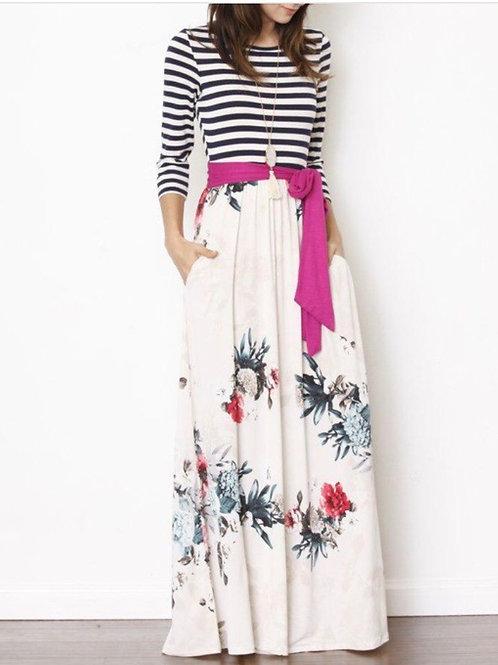 Fall Breeze Maxi Dress