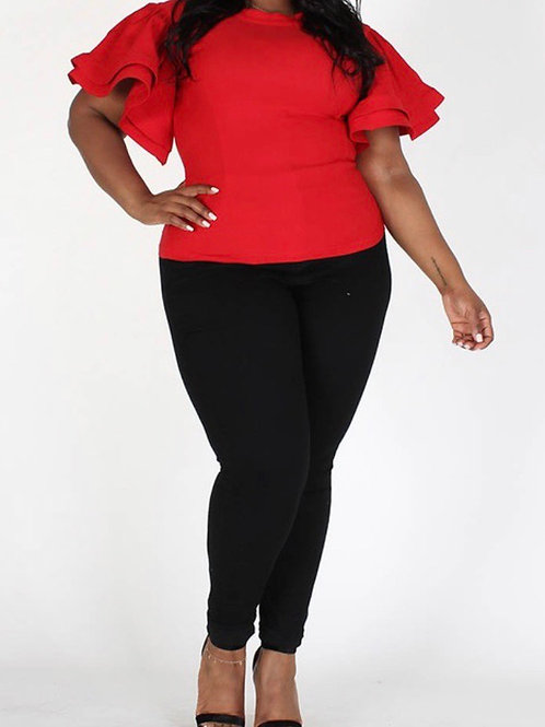 Butterfly Top (Red)