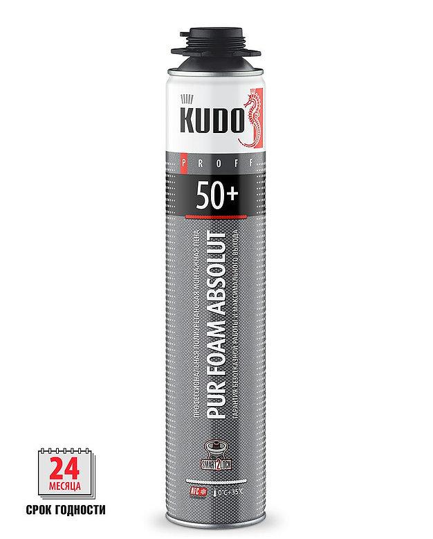 Пена монтажная Проф.KUDO PROFF 50+лето