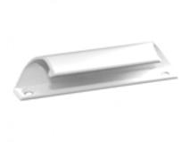 Ручка-ракушка балконной двери (алюминиевая)
