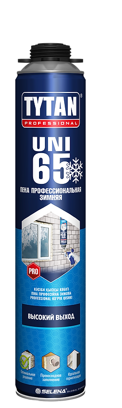 Tytan Professional 65 UNI пена профессиональная зимняя 750 мл(-10С) 10933