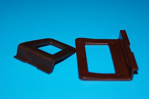 Ручка для М/С малая: коричневая
