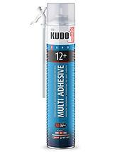 Клей-пена полиуретановый бытовой монтажный всесезонный для теплоизоляционных плит и декора KUDO НОМЕ 12+