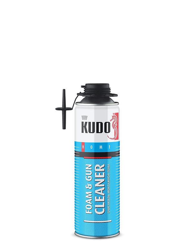 Очиститель монтажной пены KUDO FOAM&GUN CLEANER 650мл