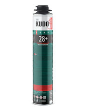 Клей конструкционный полиуретановый профессиональный всесезонный для строительных блоков и кирпича KUDO PROFF 28+