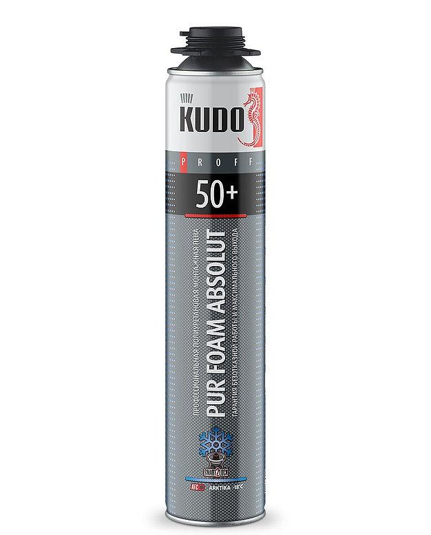Пена монтажная Проф.KUDO PROFF 50+ зима