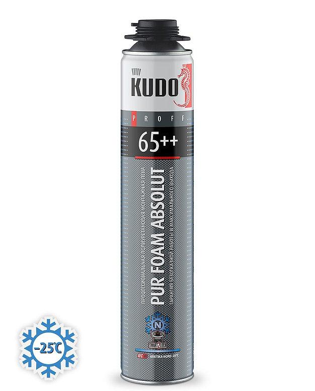 Пена монтажная Проф.KUDO PROFF 65+ зима