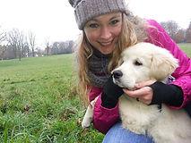 Schulhund Lila