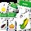 Thumbnail: English words - Fruits & Vegetables