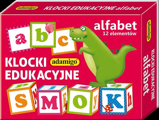 Klocki edukacyjne - alfabet