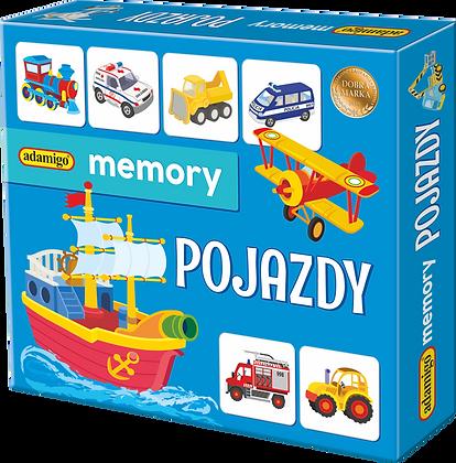 Pojazdy - Adamigo Memory