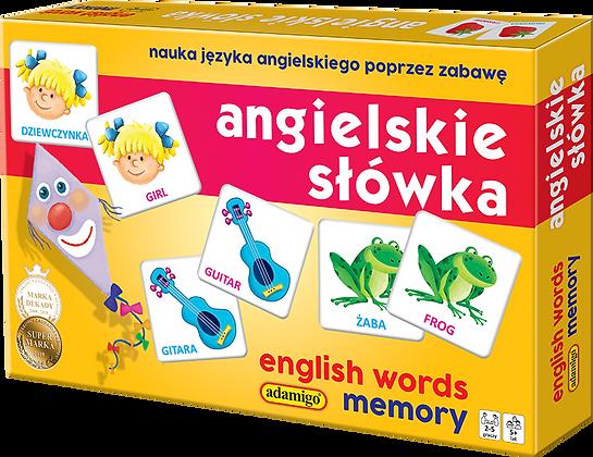 Angielskie słówka - Adamigo Memory