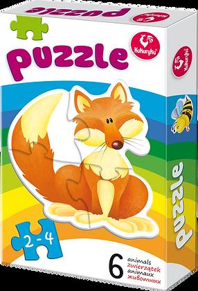 Puzzle zwierzątka 1